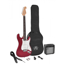 Pack guitare électrique SX set rouge | BD Music
