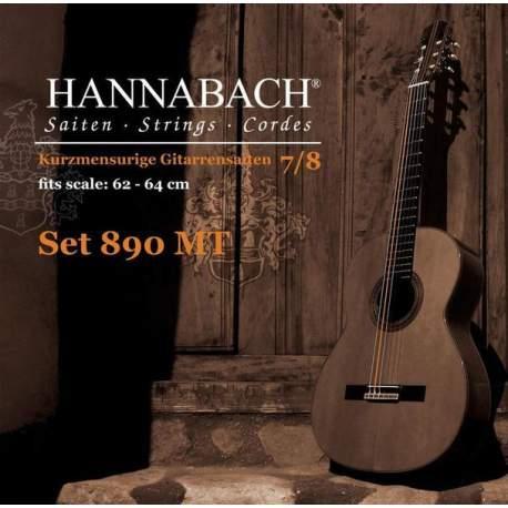 Cordes Hannabach 890-MT pour guitare classique