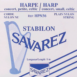 Cordes Savarez Nylon (octave 0) pour harpe celtique