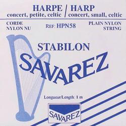 Cordes Savarez Nylon (octave 1) pour harpe celtique