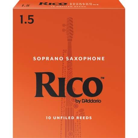 Anches (10) D'addario saxophone soprano