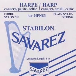 Cordes Savarez Nylon (octave 3) pour harpe celtique