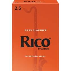 Anches (10) D'addario clarinette basse