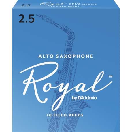Anches (10) D'addario Royal saxophone alto