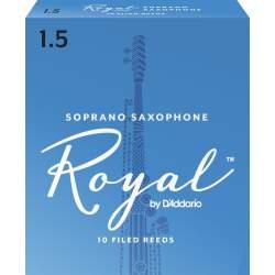 Anches (10) D'addario Royal saxophone soprano