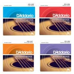 D'addario Phosphor bronze snarenset voor akoestische gitaar