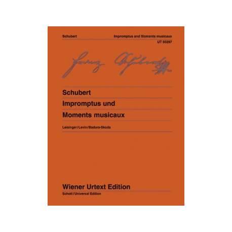 Schubert - Impromptus + Moments musicaux Wiener - piano
