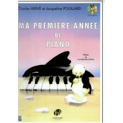 Hervé et Pouillard - Ma première année de piano