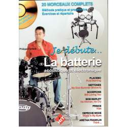 Fanfant - Je débute La batterie acoustique/électronique + CD