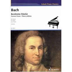 Bach - Pièces Célèbres pour piano