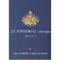 Caurette - classens - Le Hautbois classique - recueil A + accompagnement piano