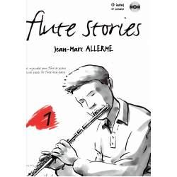 Allerme - Flute Stories  pour flûte et piano + CD