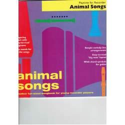 Animal Songs Flûte à bec Débutant