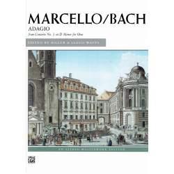 Marcello - Adagio D min - BWV 974 pour piano