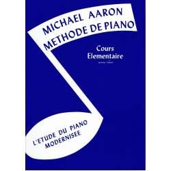 Aaron - Méthode de piano- cours Elémentaire vol. 1