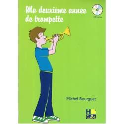 Bourguet - Ma deuxième année de trompette + CD