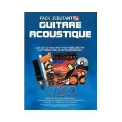 Pack débutant Guitare acoustique