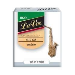 Anches D'addario La Voz saxophone alto