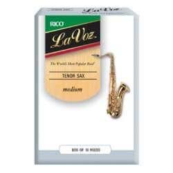 Anches D'addario La Voz saxophone ténor