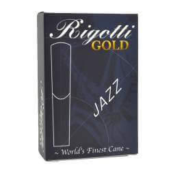 Anches Rigotti Gold Jazz sax ténor