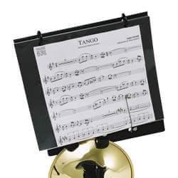 Lyre avec carnet de marche DEG HC260 pour trompette